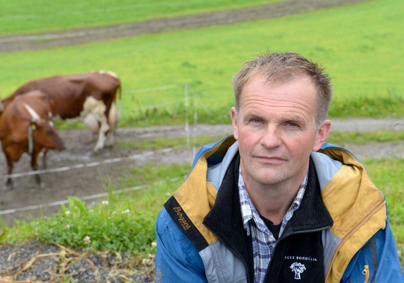 Knut Olav Omholt, gårdbruker i Lardal, Vestfold